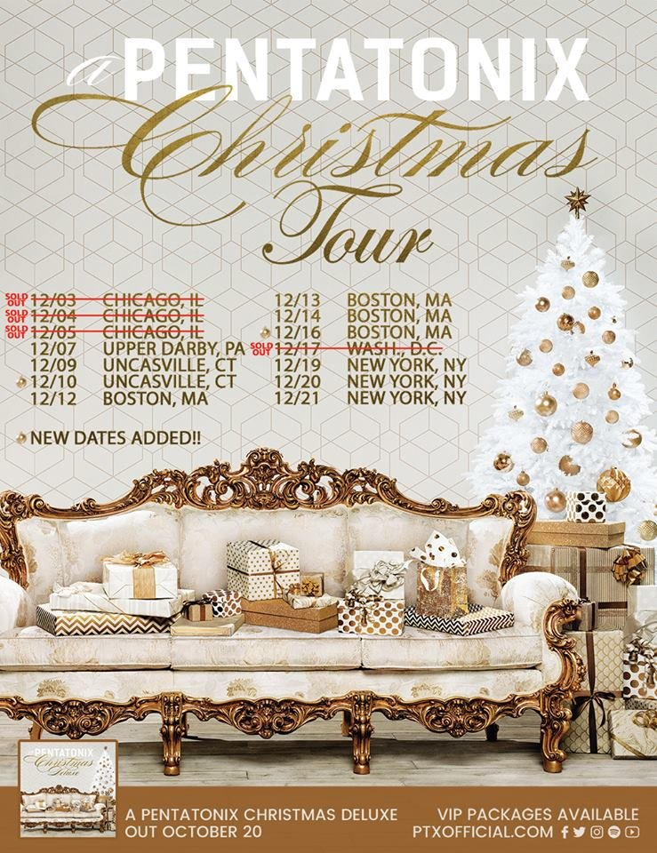 all three dates of our chicago shows from a pentatonix christmas tour are sold out - Christmas Shows In Chicago