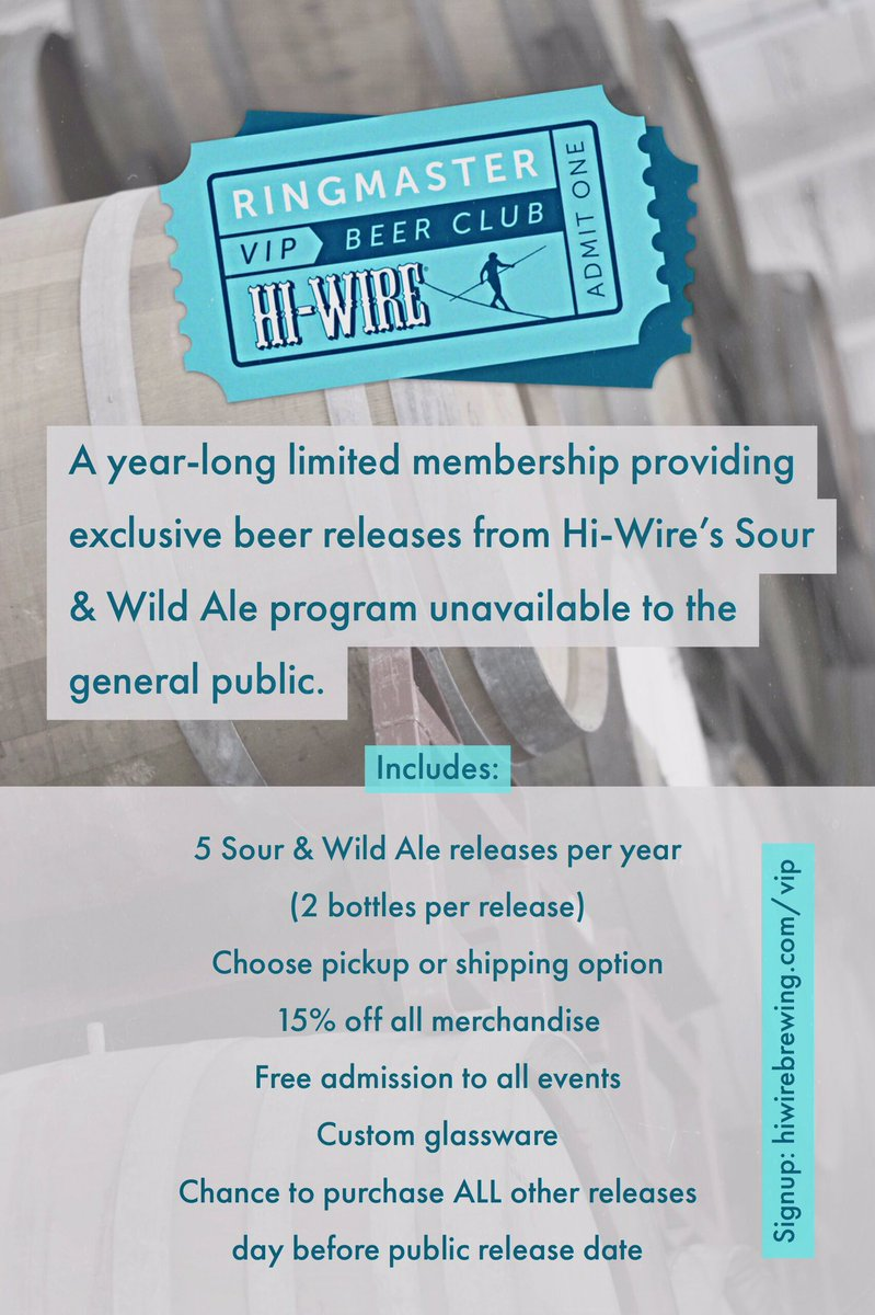 Hi-Wire Brewing on Twitter: \