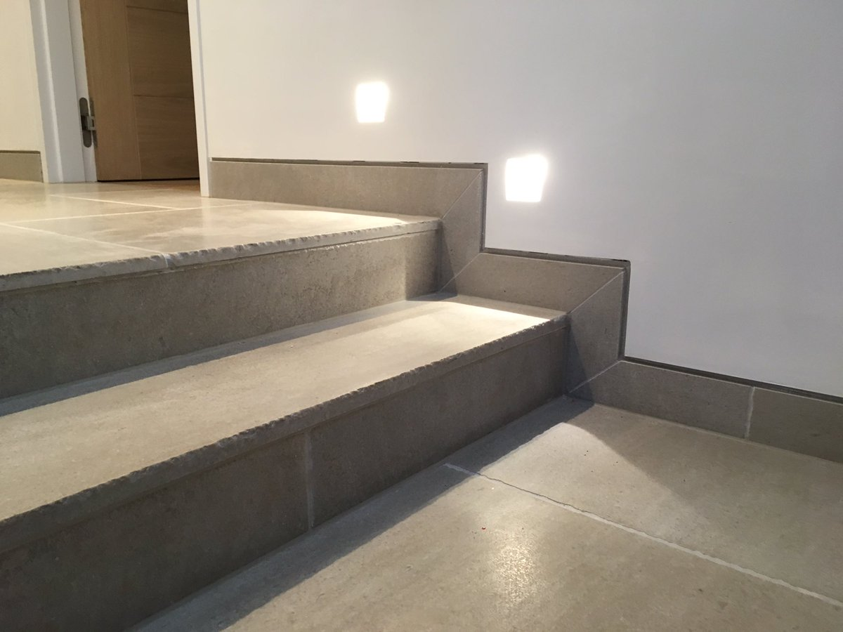 "Shadow Gap Staircase Lighting: James Bowyer. On Twitter: ""Limestone Stone Floor"