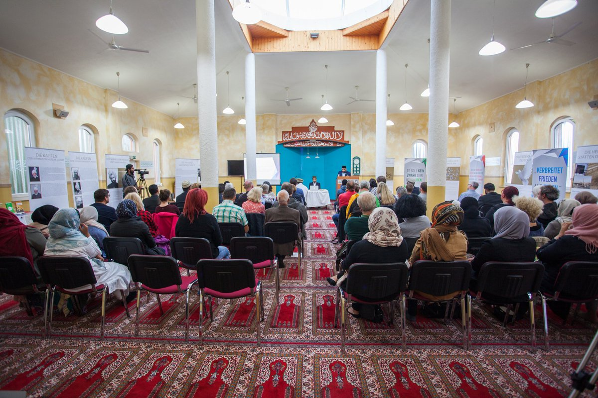 "islam - ahmadiyya de on twitter: ""auch in koblenz folgten viele, Einladung"