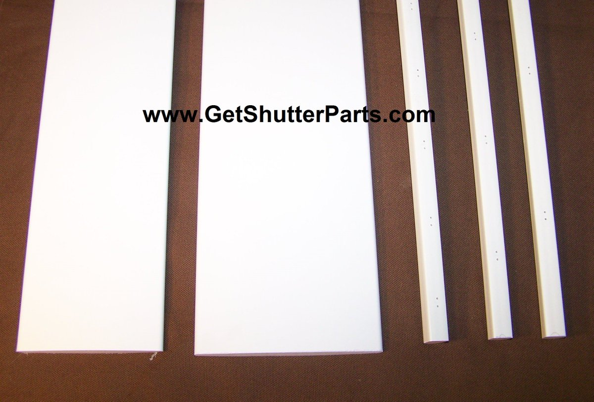 Get Shutter Parts On Twitter Replacement Louver Kits