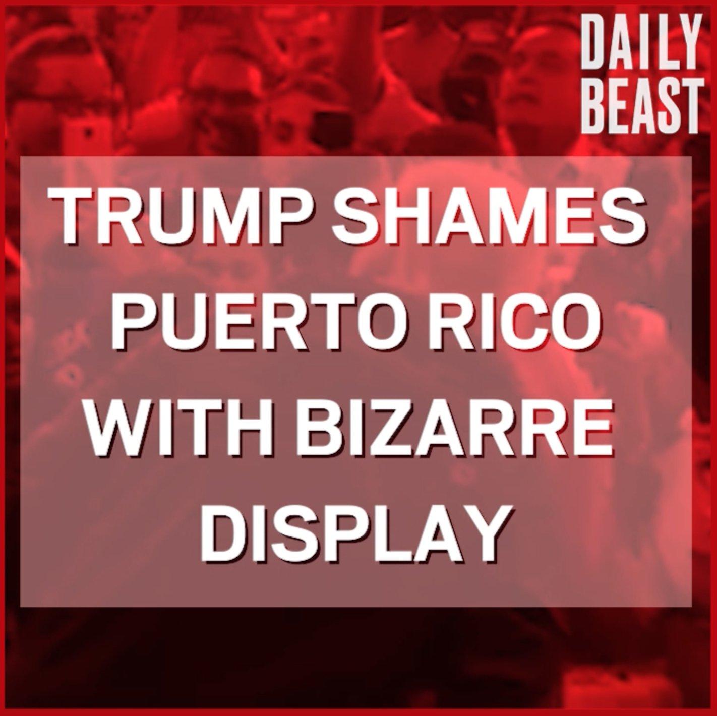 RT @thedailybeast: Trump's visit to Puerto Rico was, um, unique. https://t.co/2wNIjQNZ5K https://t.co/p7fg7JjqUp