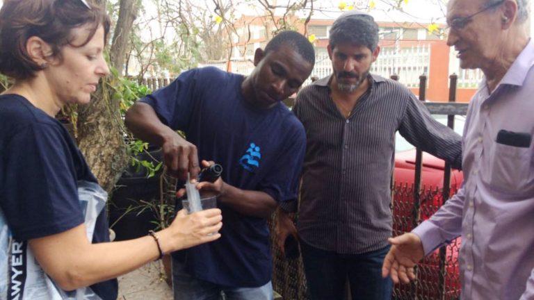 In the wake of #HurricaneMaria, @IsraAID sends emergency response team to #PuertoRico