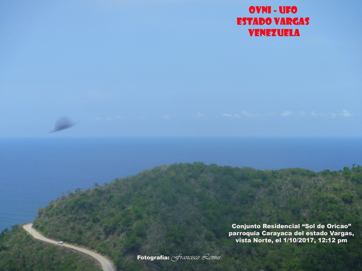Resultado de imagen para OVNI VENEZUELA