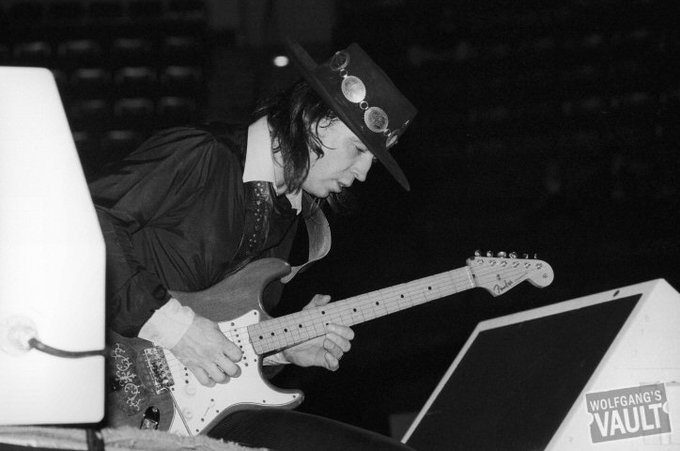 Happy birthday Stevie Ray Vaughan! The legendary guitarist would have turned 63 today.