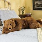リアルなモフモフ!クマとパンダのぬいぐるみ抱き枕がかわいい!
