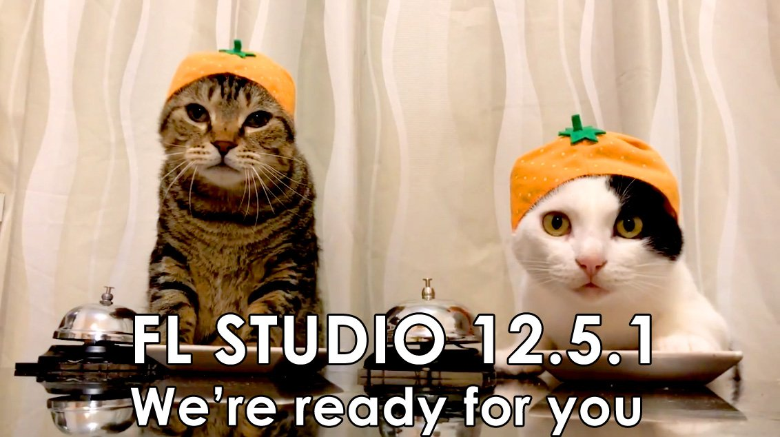 Are you ready for FL Studio 12.5.1 ? https://t.co/SMjlIvR8FI