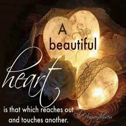 A Beautiful #Heart reaches out to touch another. #JoyTrain #Joy #Love  #Wisdom  RT @vickiemoore07