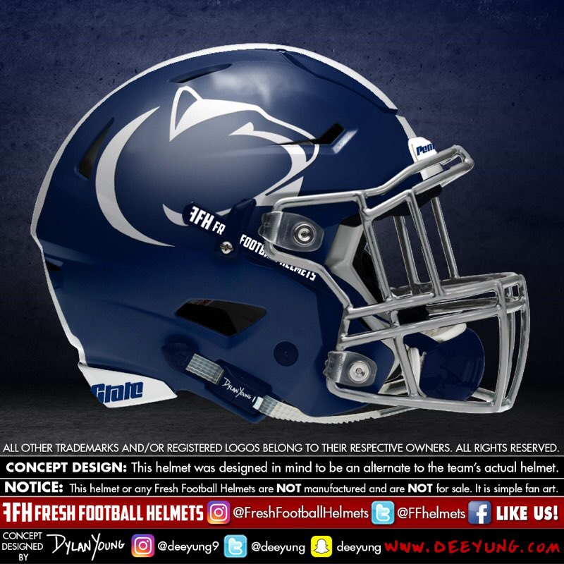 Penn State Nittany Lions alternative football helmet