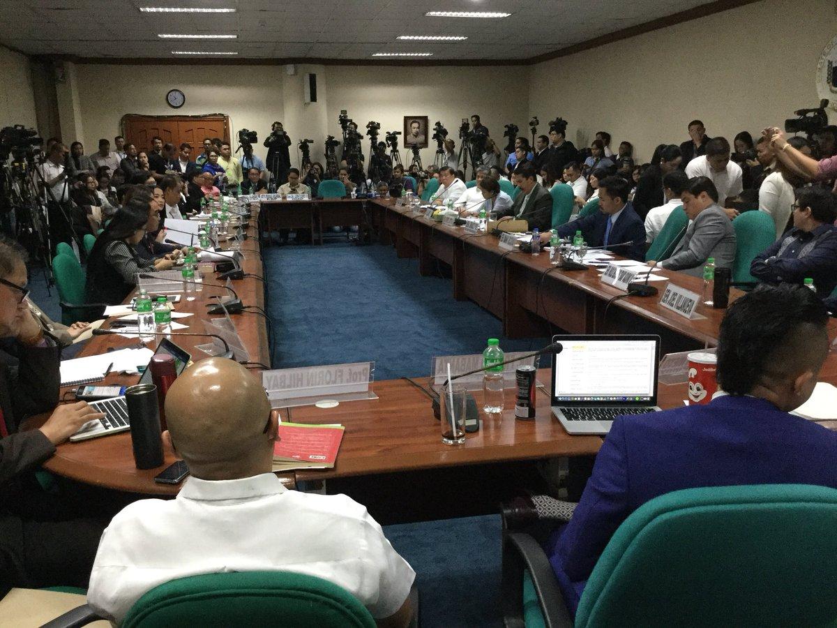 Senate Hearing of the Committee on Public Information on #FakeNews @SenGracePOE