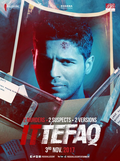 He was accused of a crime he did not commit! Wait for his version....his story.....#Ittefaq on 3rd NOV! @S1dharthM @sonakshisinha #akshaye https://t.co/kH8kQ0vFsC