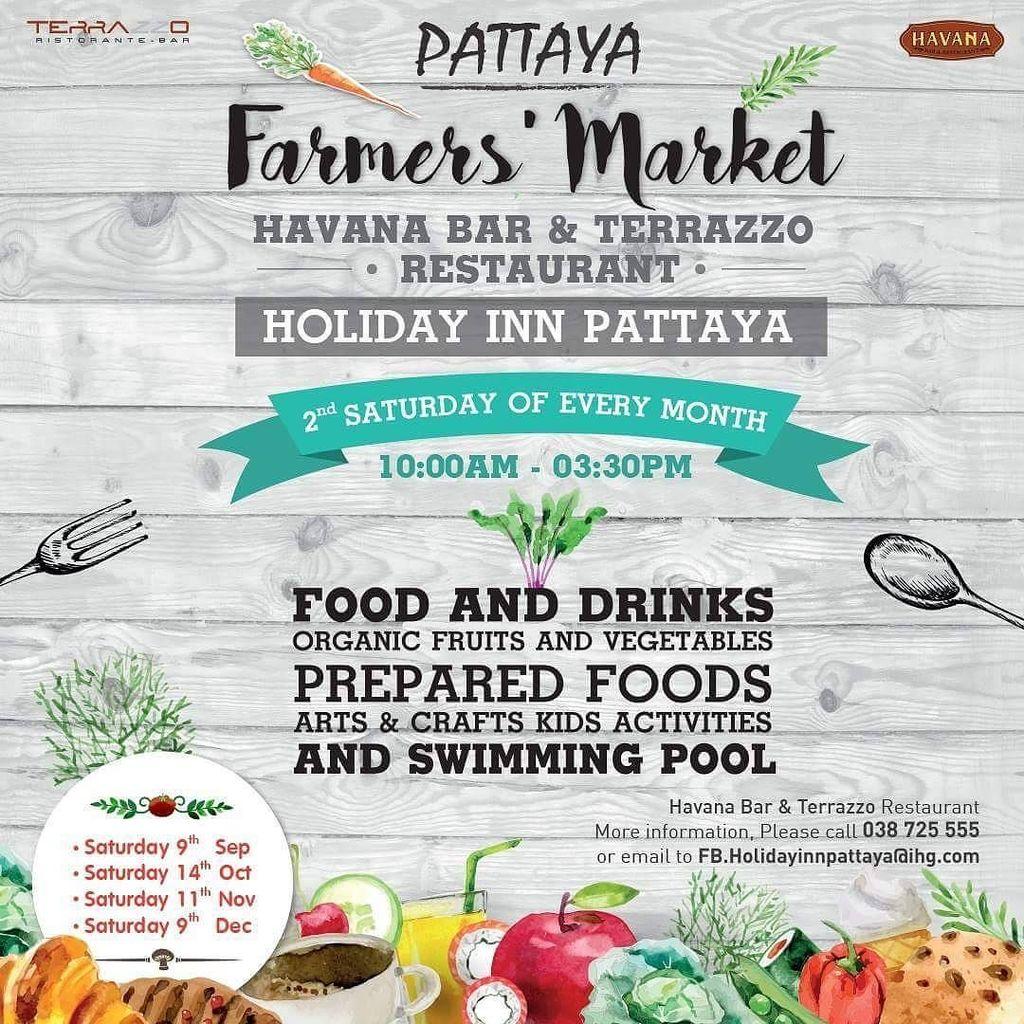 Up coming Farmers' Market on SAT 14 October 2017 start from 10.00 AM - 03.30 PM at Havana Bar & Terrazzo https://t.co/XIdlgO6kIE https://t.co/SlmIr68ro7
