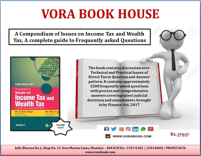 Title - A Compendium of issues on income tax &amp; wealth tax a complete guide to frequently asked questions  Price - Rs. 3795/- #vorabookhouse <br>http://pic.twitter.com/2stnOoZxKJ