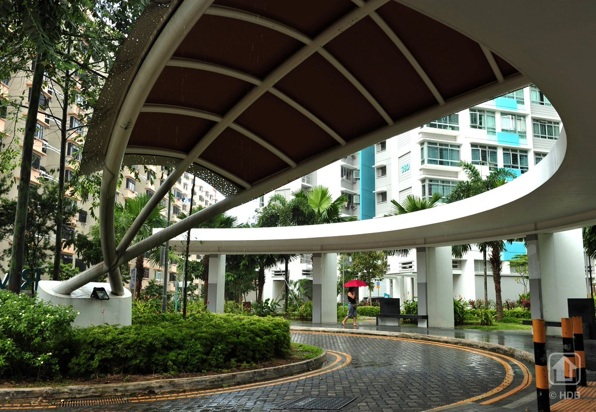 Design features hdb infoweb -  Like This Sheltered Drop Off Porch Http Www Hdb Gov Sg Cs Infoweb Residential Buying A Flat New Design Features Pic Twitter Com Yt07fsz3z8