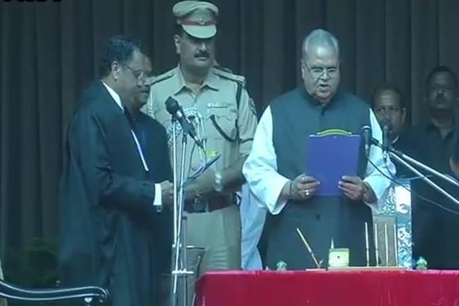 #SatyaPalMalik sworn in as #Bihar Governor https://t.co/vzpuVlh60t
