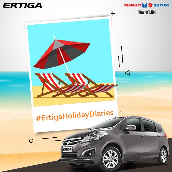 We hope you had an amazing #weekend & to celebrate this mini-break we are back with Maruti Suzuki #ErtigaHolidayDiaries #contest. https://t.co/t1M7UcKMkp