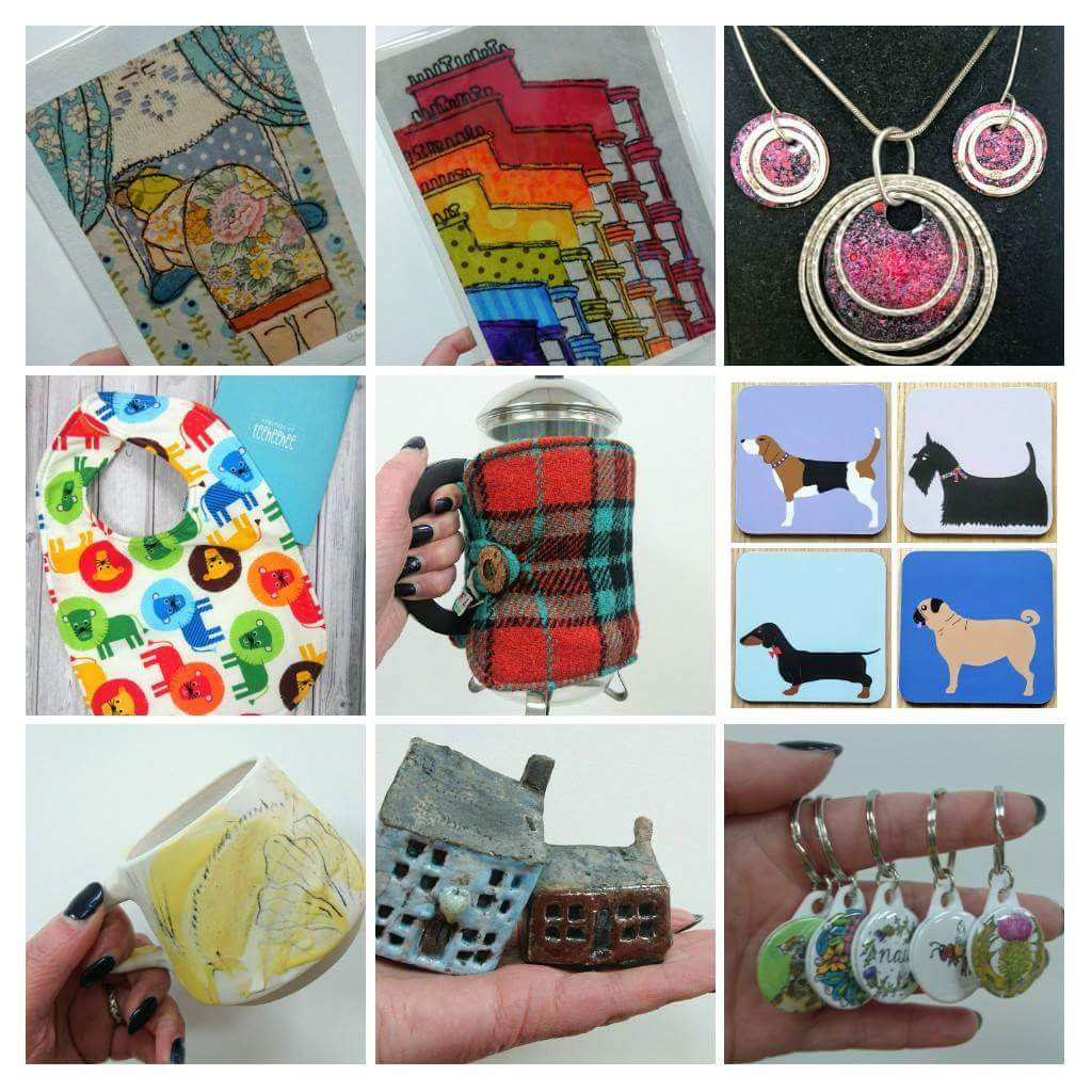 Thought we&#39;d share some cheerfulness! Lots of gorgeous, new, colourful items have been arriving from our #Scottishartists  &amp; #makers!<br>http://pic.twitter.com/6C37sWEhZv