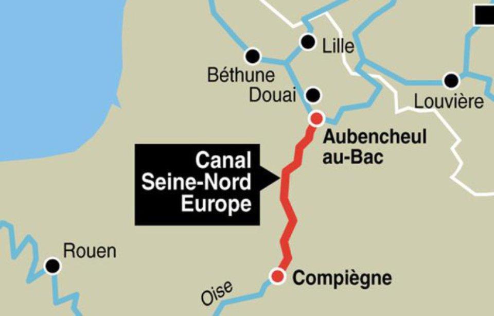 """Résultat de recherche d'images pour """"canal seine nord europe"""""""