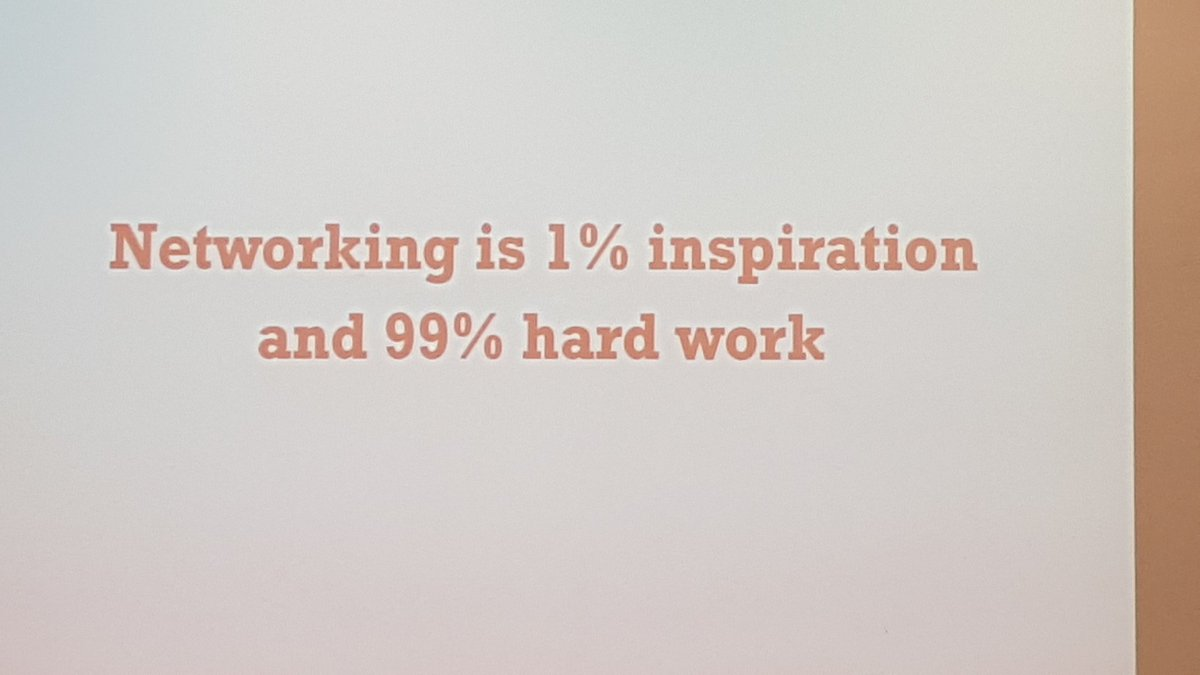 Walid O El Cheikh On Twitter Networking Is 1 Inspiration And 99 Hard Work