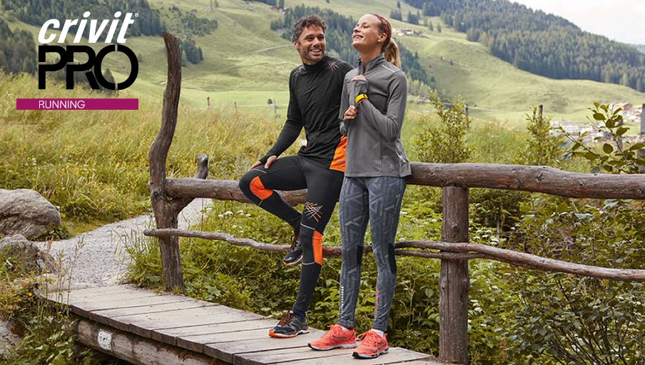 Set new limits with CRIVIT PRO Running. High quality performance wear in  stores from Thursday 5th October 012d9b130a4
