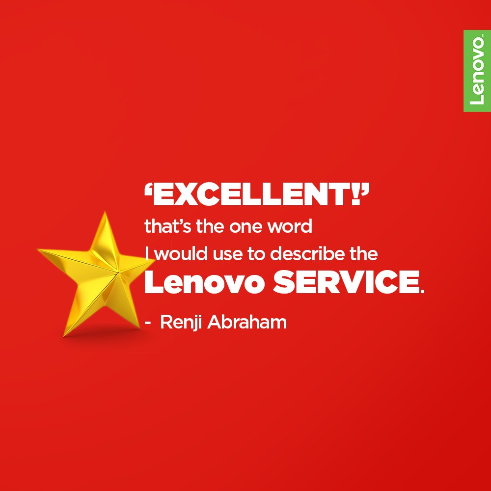 Lenovo India Support on Twitter: