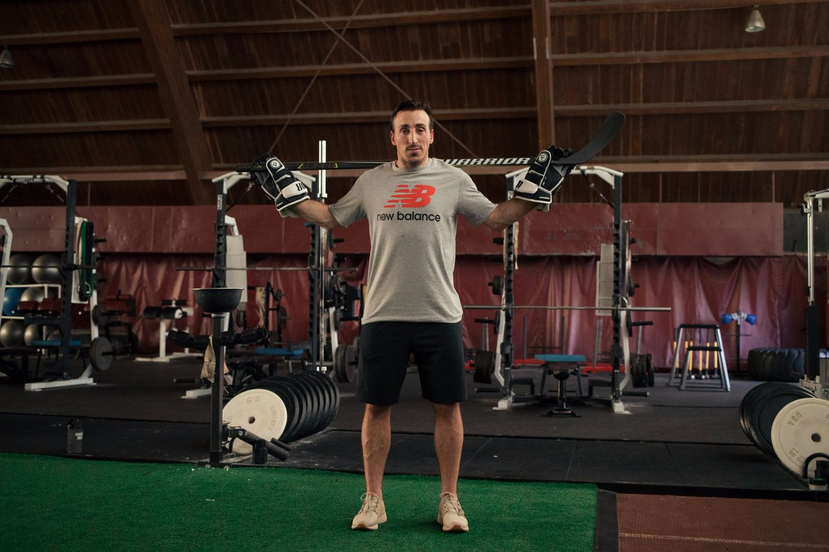 Competition is in his nature. Hockey is in his blood. Introducing the newest member of the #WarriorPro family & #TeamNB, @Bmarch63