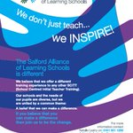 Image for the Tweet beginning: We don't just teach... we