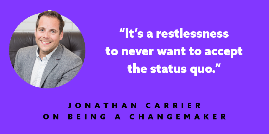 What does it take to be a #Changemaker? @jonthanjcarrier shares his thoughts.  https://t.co/nz3mTD4m4J https://t.co/3xsv4TUCWO