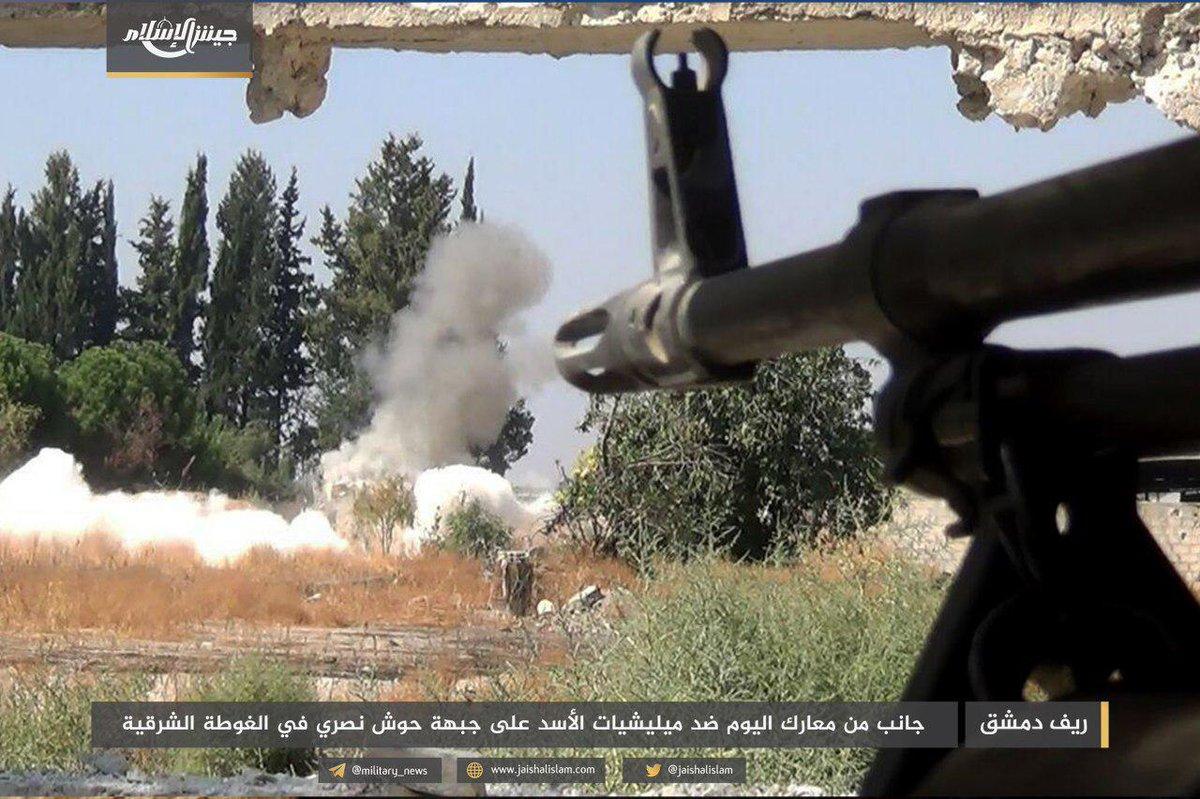 Jaish Al Islam Fended Off Government Attack On Hawsh Dawahirah