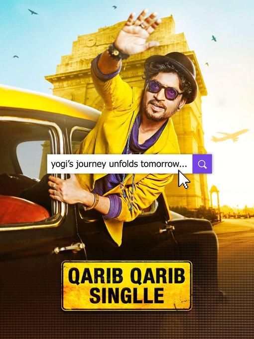 Yogi's #QaribQaribSinglle journey unfolds tomorrow! #Parvathy @QQSTheFilm @ZeeStudios_ @JarPictures https://t.co/fPp3vyM2Ln