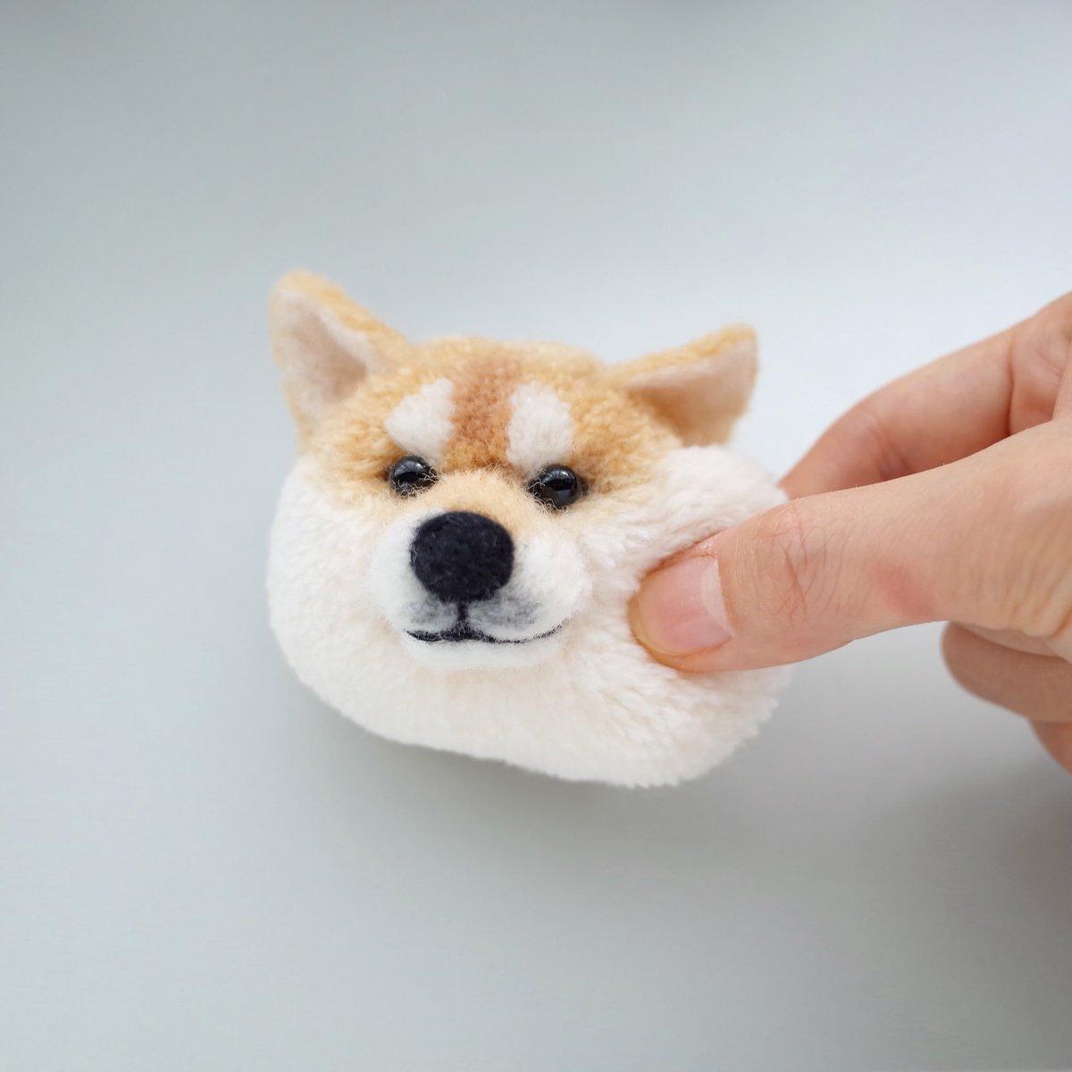 形状記憶柴☺️  #犬ぽんぽん