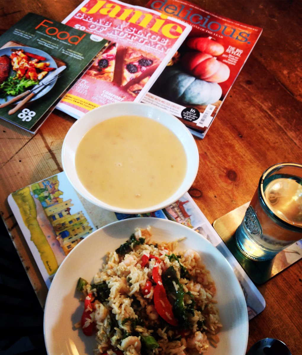Sarah jane bell on twitter perfect lunch break chicken soup sarah jane bell on twitter perfect lunch break chicken soup homemade egg fried rice plus some fab autumn reading material jamieoliver deliciousmag ccuart Choice Image