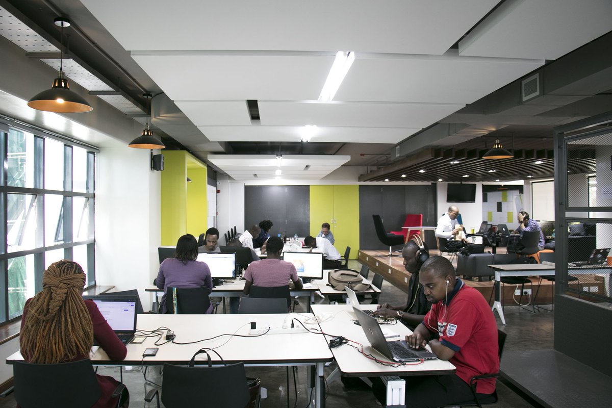 iHub Innovation Centre Workspace