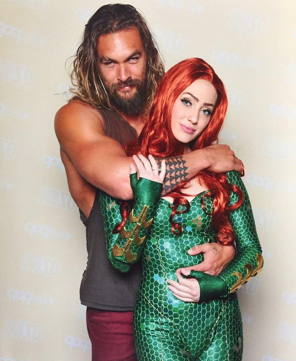 "Aquaman Jason Momoa Mera Aquaman S Wifey Amber Heard: The Aquaman Shrine On Twitter: ""Iconic Cosplay #Aquaman"