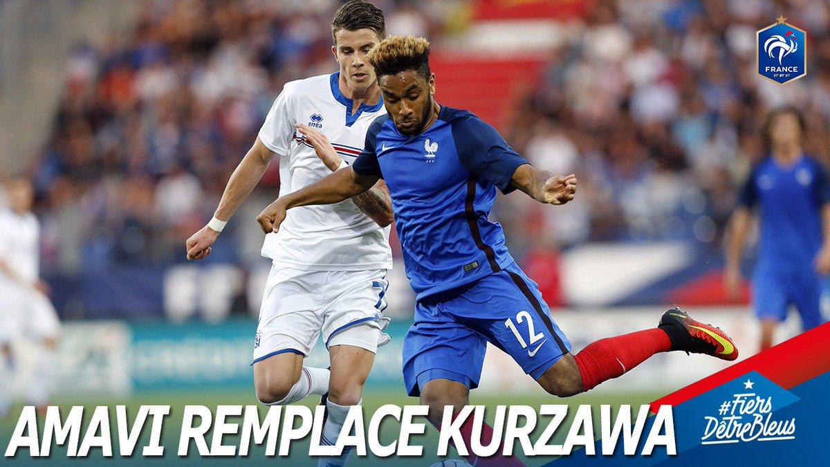 France - Kurzawa forfait, Amavi convoqué !