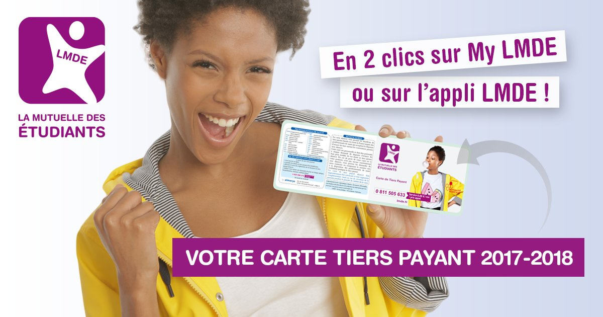 carte tiers payant lmde