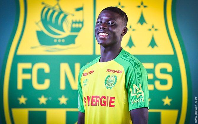 Abdoulaye Dabo passe professionnel à 16 ans — Nantes
