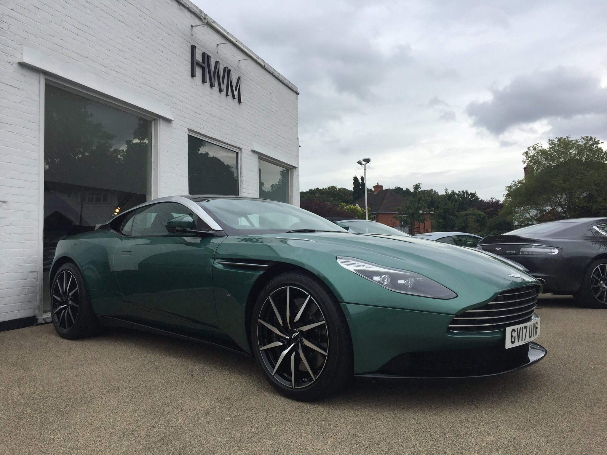 "HWM_AstonMartin On Twitter: ""DBR9 Racing Green Really"
