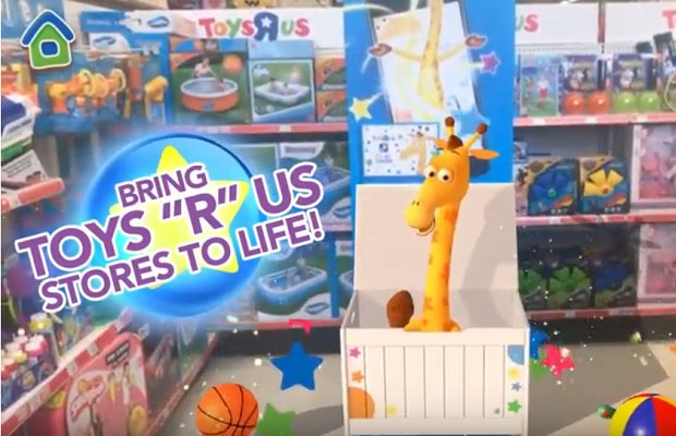 Toys 'R' Us woos back shoppers with augmented reality in-store game https://t.co/sPBL4nV7uq #augmentedreality #AR https://t.co/2uUS2whI5e
