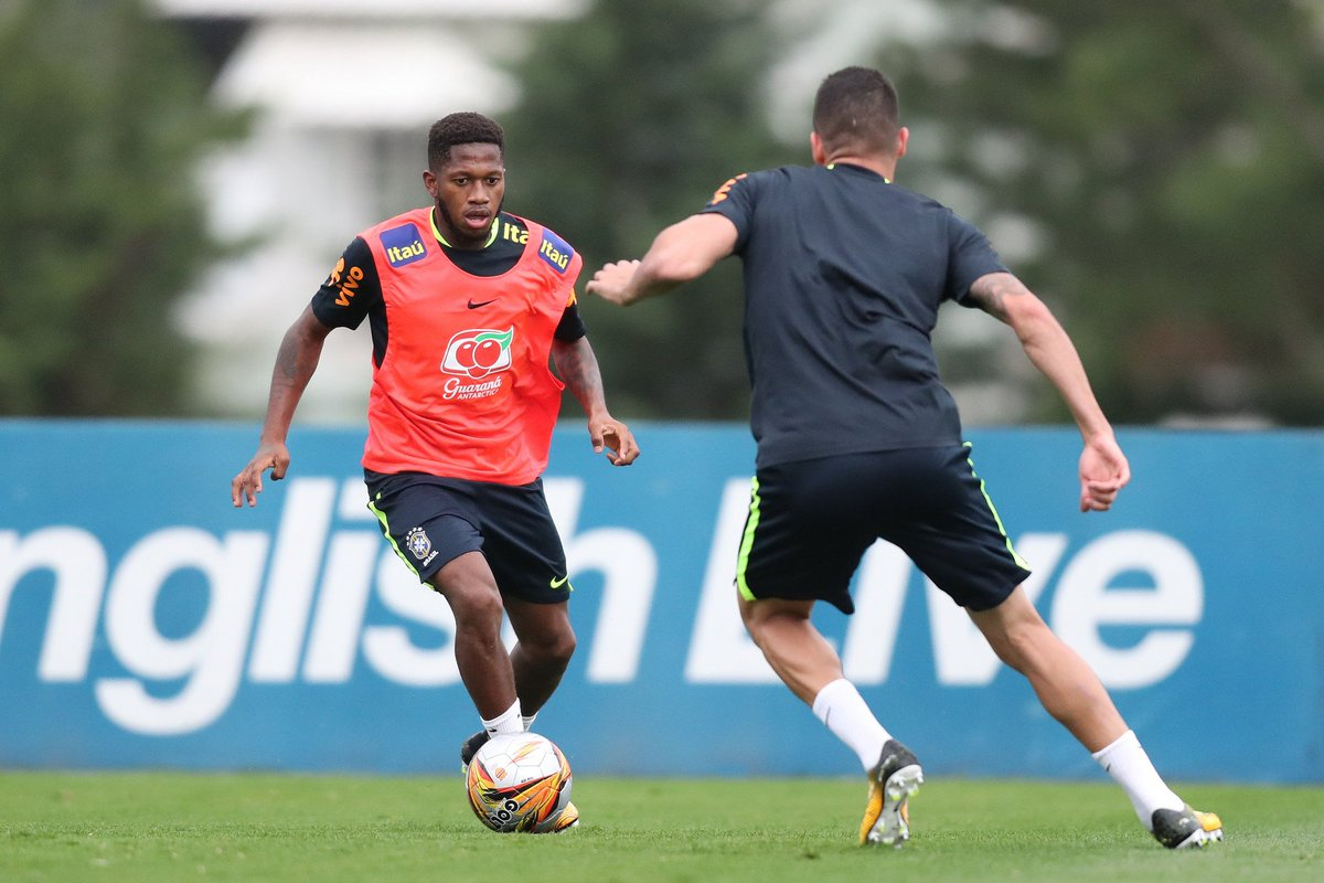 Хавбек Шахтера Фред снова в сборной Бразилии
