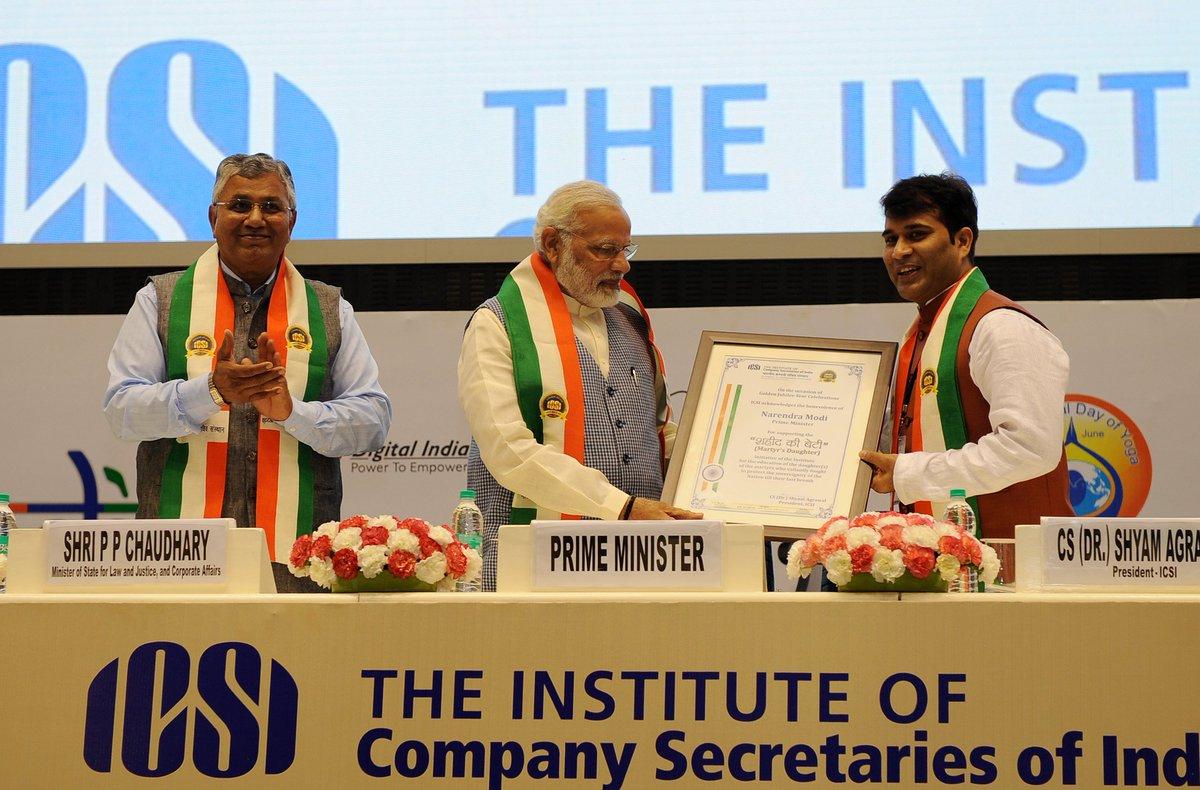 PM Modi institute of secretaries speech साठी प्रतिमा परिणाम