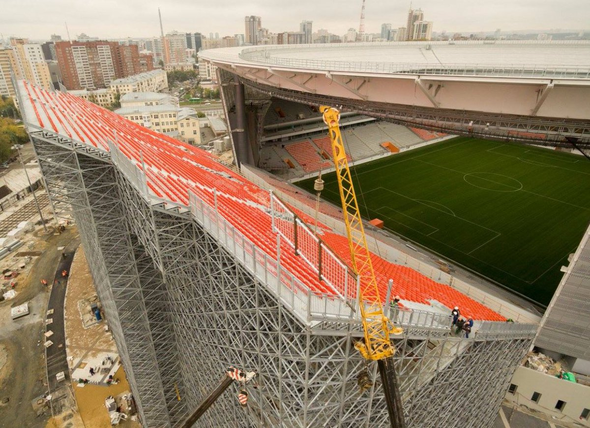 Darren Rovell On Twitter Quot Must See Stadium In Russia In Order To Be Compliant For The 2018