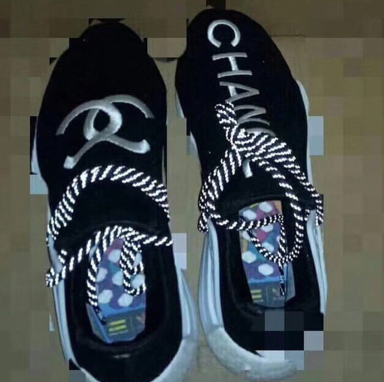 b1445aecd8a12 Pharrell x Chanel x adidas NMD Human Race collaboration coming soonpic. twitter.com 4QUZid1e4U