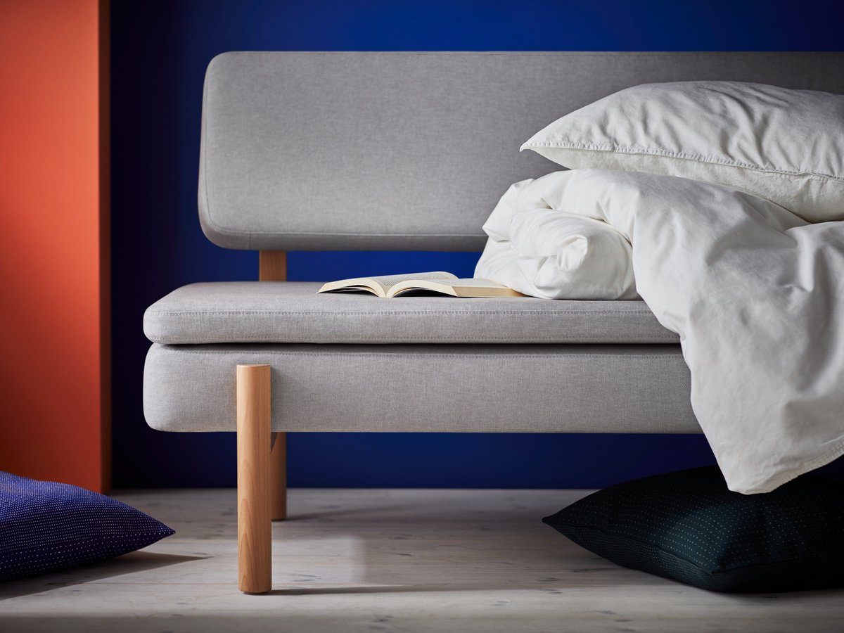 Ikea Materassi A Molle.Ikea On Twitter Divano Di Giorno Materasso A Molle Di Notte