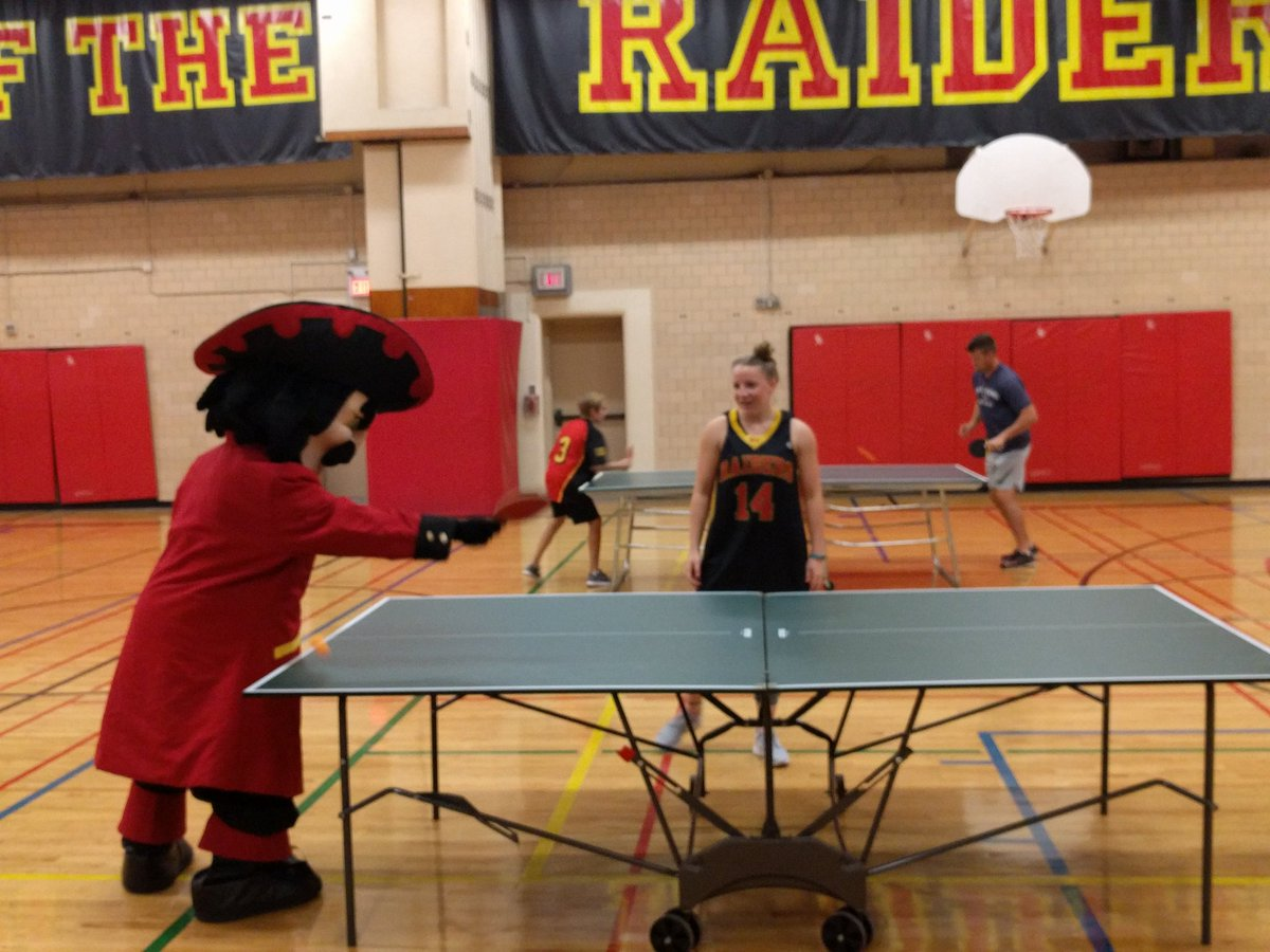 Kci Athletics On Twitter Rodney The Raider Getting Pumped For Kitchener Klash Pingpongking