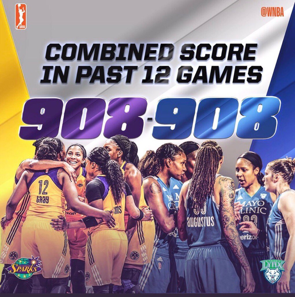 Been around the WNBA since the beginning. This is the best rivalry and highest quality of play in league history. https://t.co/8eKi0rr28M