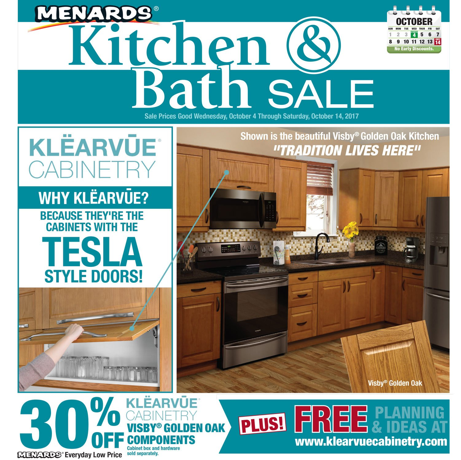 Menards On Twitter Time For A Remodel Our Kitchen And Bath Sale Starts Today Save On Everything From New Cabinets To Stylish Sinks Https T Co Diardbynkm Https T Co U6q24jfduh
