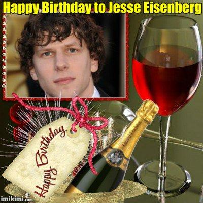 Happy Birthday to Jesse Eisenberg