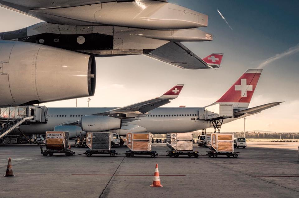 A nice scenery at the morning: #HBJMJ #A340 gets ready for take-off #HubDay #SolLogisticsGroup<br>http://pic.twitter.com/dH82n1v7C9
