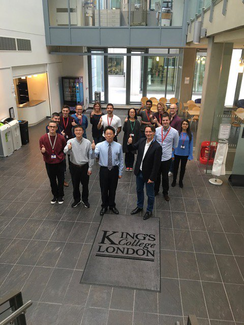 Today we got to welcome our friends from the Tri-service Hospital,Taiwan to @Kings_BHFCentre - we hope you enjoyed your tour!